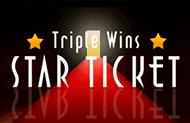 Азартные игровые слоты Звездный Билет Тройной Победы